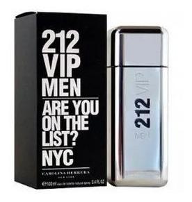 Perfume Vip 212 Carolina Herrera For Men 200ml