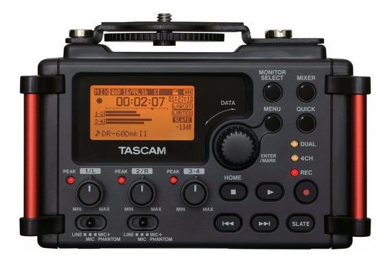 Gravador Tascam Dr-60d Mk I I Digital Portátil Dr 60d Pcm