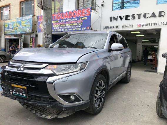 Mitsubishi Outlander Chocada-salvamentos