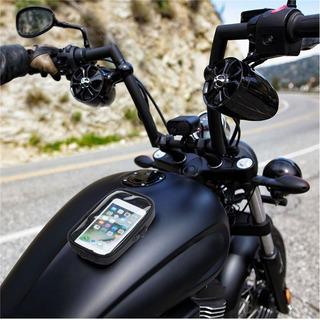 Suporte/case Celular Gps - Moto C/ Imã Tanque Combustível