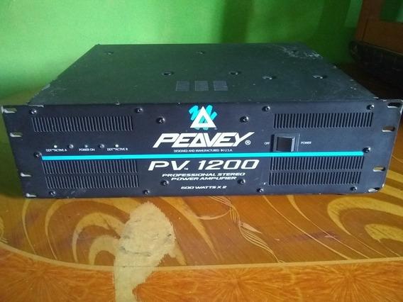 Power Amplificador Peavey 1200 Watts Excelente Estado