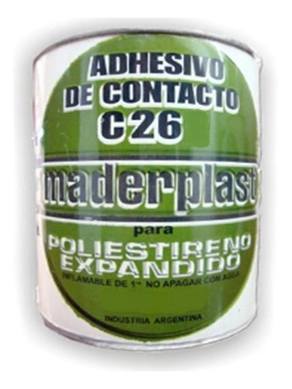 Adhesivo De Contacto Poliuretano C-26 Maderplast 4 Litros