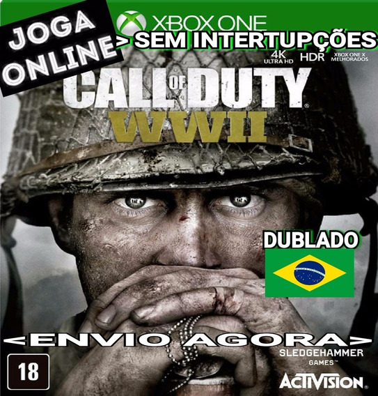 Call Of Duty Wwii Cod Ww2 Xbox One Online Digital Original