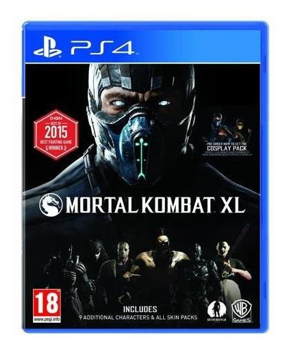 Mortal Kombat Xl Ps4 Psn Code 2 Digital Envio Já
