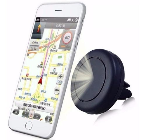 Imagem 1 de 6 de Suporte Celular Carro Imã Gps Tablet Magnetico 360 Graus