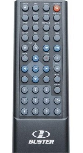 Controle Remoto Para Dvd H-buster Hbd-9400 9450 9460 D3000