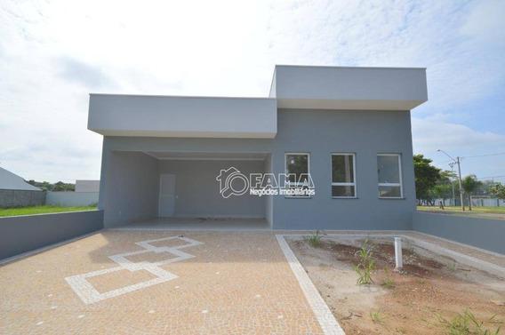 Casa Com 3 Dormitórios À Venda, 148 M² Por R$ 619.000,00 - Condomínio Campos Do Conde Ii - Paulínia/sp - Ca2085