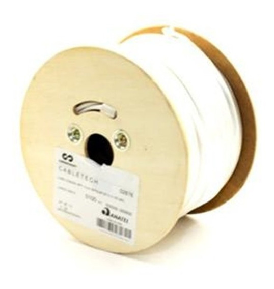 Cabo Coaxial Cftv 1080p Rff 4mm 85% + 2×26 Awg Cabletech