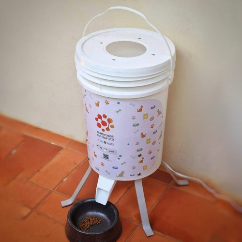 Alimentador Automático Para Animais Pequenos E Grandes