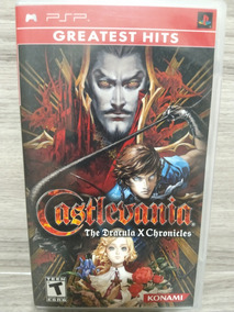 Castlevania The Dracula X Chronicles - Psp