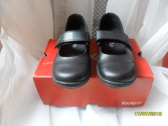 Zapatos Kickers Colegial Talla 33