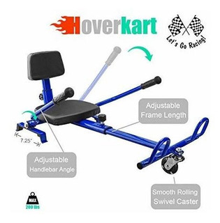 Xtremepowerus 6.5 Hoverboard Kart Ajustable Accesorio Acces