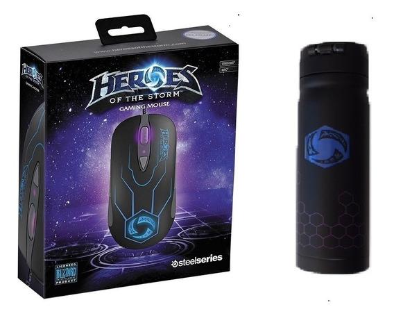 Promoção Mouse Gamer Laser Steelseries + Garrafa Térmica