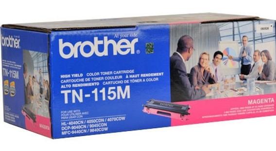 Cart Toner Brother Dcp9045/tn115m Magenta Original