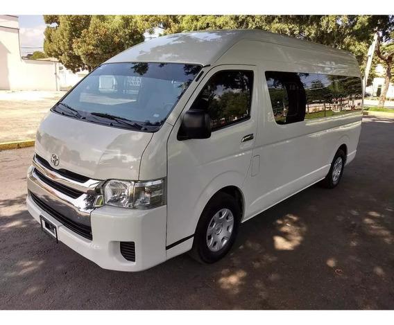 Toyota Hiace 2015 15 Pasajeros Perfecto Estado
