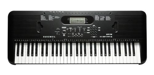 Teclado Organo Kurzweil Kp70 Sensitivo Usb 61 Teclas +fuente