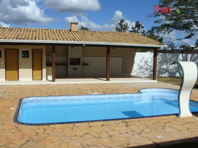 Casa Com 03 Suítes, 03 Banheiros, 04 Vagas De Garagem No Condominio Prive À Venda, Jardim Botânico, Brasília. - Ca2117