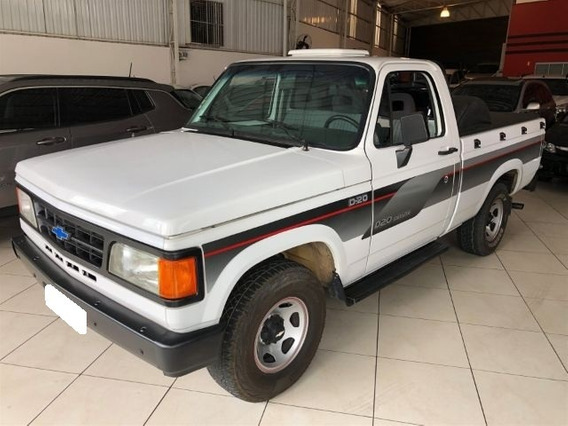 Chevrolet D20 Custom S 4.0 Cs Diesel 2p Manual 1995 Branco