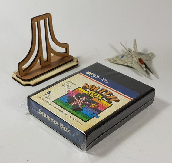 Squeeze Box - Atari 2600 [ Us Games ] Original [ Perfeito ]
