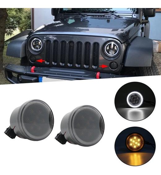 Cuartos Led Halo Jeep Jk Wrangler Shara 07-18