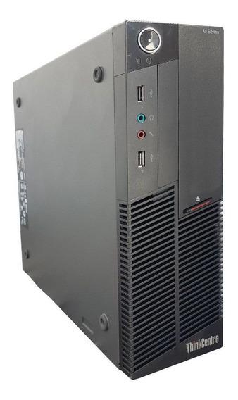 Desktop Lenovo M90p Core I5 8gb Ssd 120gb Wifi Refurbished