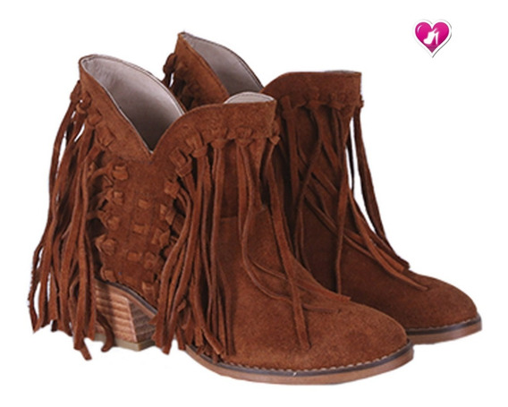 Bota Texana Cuero Mod Western Shoes Bayres Cuota Sin Interes