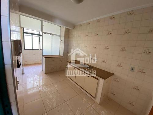 Apartamento Com 3 Dormitórios Para Alugar, 66 M² Por R$ 800,00/mês - Presidente Médici - Ribeirão Preto/sp - Ap3557