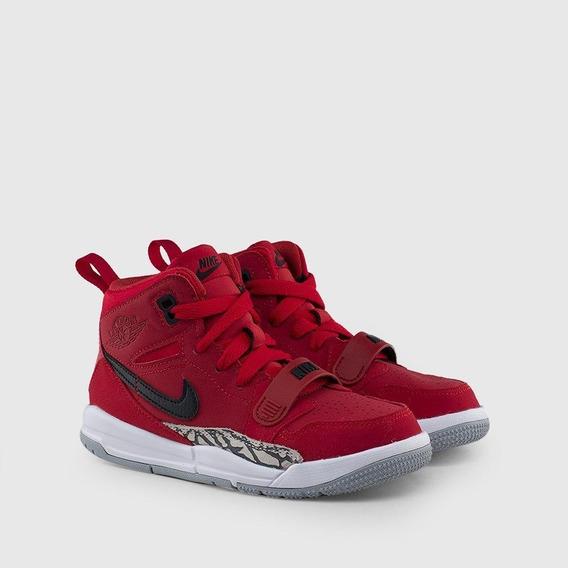 Tenis Jordan Legacy 312 Niño Fusion Retro Ps Varsity Red O