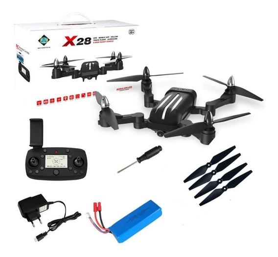 Drone X28 Bayangtoys Gps 5g Wifi Câmera 8mp Motor Sem Escova