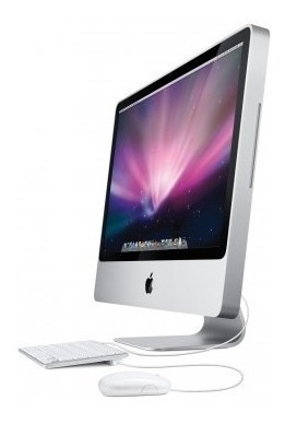 Apple iMac 20 Polegadas Core 2 Duo 2.4 Memoria 4gb Hd 250gb Placa De Video Ati Radeon