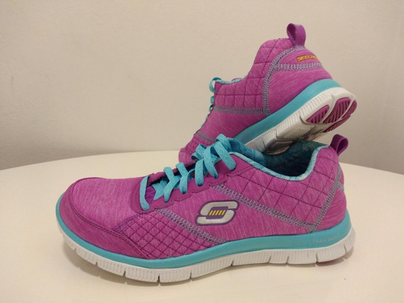 Zapatillas Skechers Memory Foam Lite Weight Flex Sole Nro 38