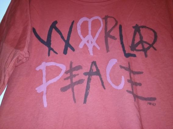 Remera Marca 47 Street Talle 3-42 Paz Amor