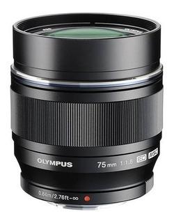Olympus - 75mm F / 1.8 Lente Retrato Para La Mayoría De Micr