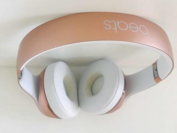 Fone De Ouvido Beats Solo 3 Wireless Rose Gold Bluetooth