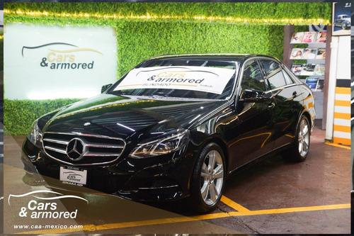 Mercedes Benz E250 2014 Blindado
