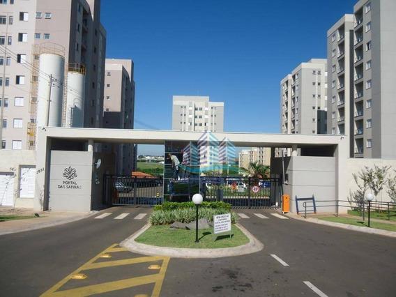 Apartamento Com 2 Dormitórios À Venda, 58 M² Por R$ 227.900 - Condomínio Portal Das Safiras - Hortolândia/sp - Ap0260