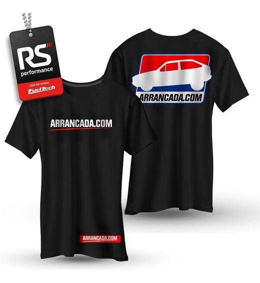Camiseta Arrancada.com Modelo Gol Quadrado