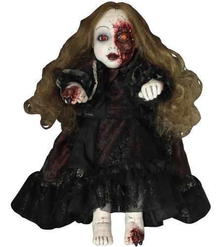 Imagen 1 de 1 de Decorativo Muñeca Diabólica America Doll Halloween