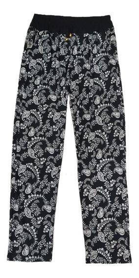 Pantalon Mujer Seda Fria Talles Especiales 6 7 8 9 Y 10
