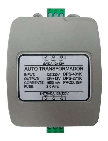 Auto Transformador (fonte / Trafo) Bivolt 127/220v Com Dps
