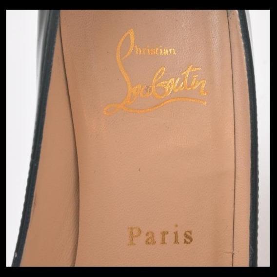Sapato Christian Louboutin - Scarpin De Bico Redondo