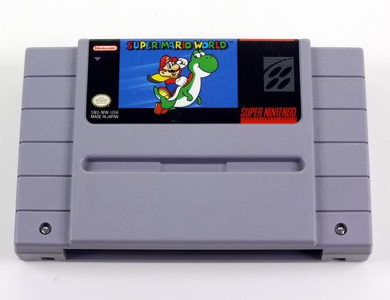 Super Mario World Super Nintendo Snes Original