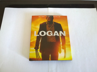 Digibook Logan Bluray + Dvd + Logan Noir + Digital Hd
