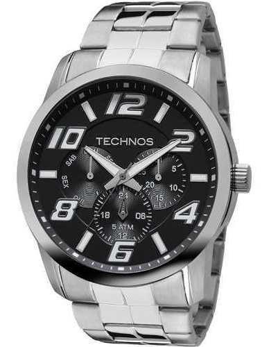Relógio Masculino Technos Multifunção 6p29aft/1p Original