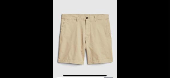 Bermudas 7 Gap Flex Shorts Vintage - Talle 32 - Nuevos!
