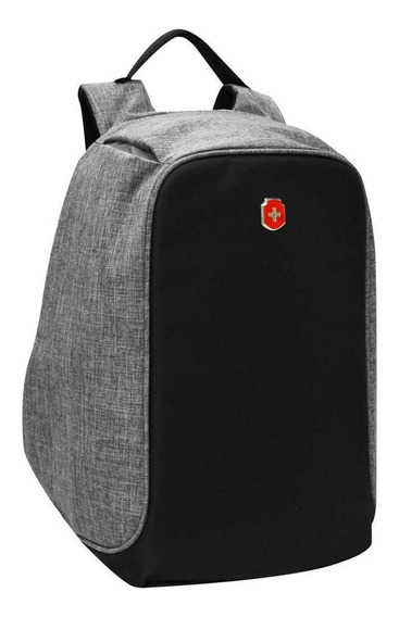 Mochila Swissland Anti Furto Roubo Laptop Usb Notebook