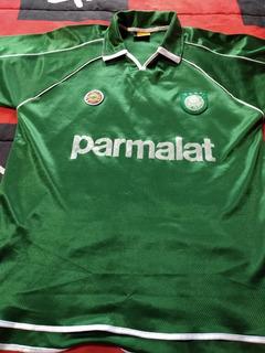 Camisa Antiga Palmeiras Rhumell Parmalat 2000