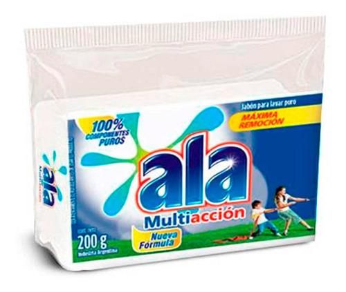 Imagen 1 de 4 de Jabon Blanco Ala En Barra Multi Acción X 200 G
