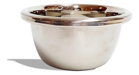 Bowl De Acero Inoxidable Reforzador Batir Reposteria Mediano