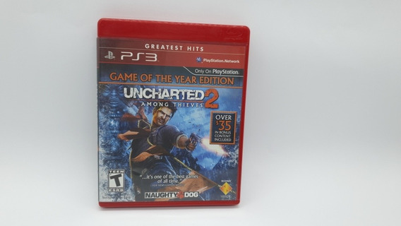 Uncharted 2 Among Thieves - Mídia Física - Ps3